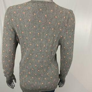 J. Crew Sweaters - J. Crew Gray Italian Cashmere Long Sleeve Sweater